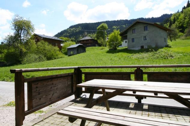 Each unit has a private terrace