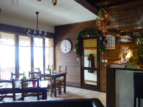 Dining area in Restaurant