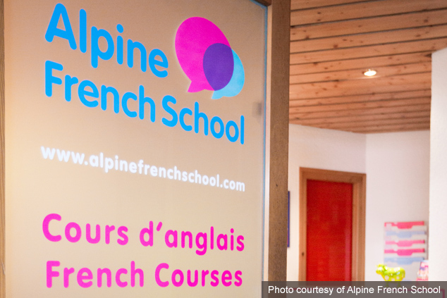 Alpine French School in Morzine, France.
