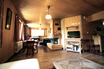 Living room area in Montriond
